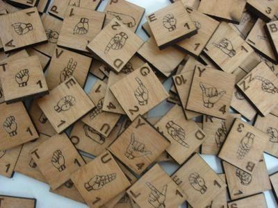 Custom Scrabble Tiles