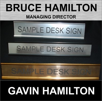 Budget - Door / Wall / Desk Signage as low as $5.23