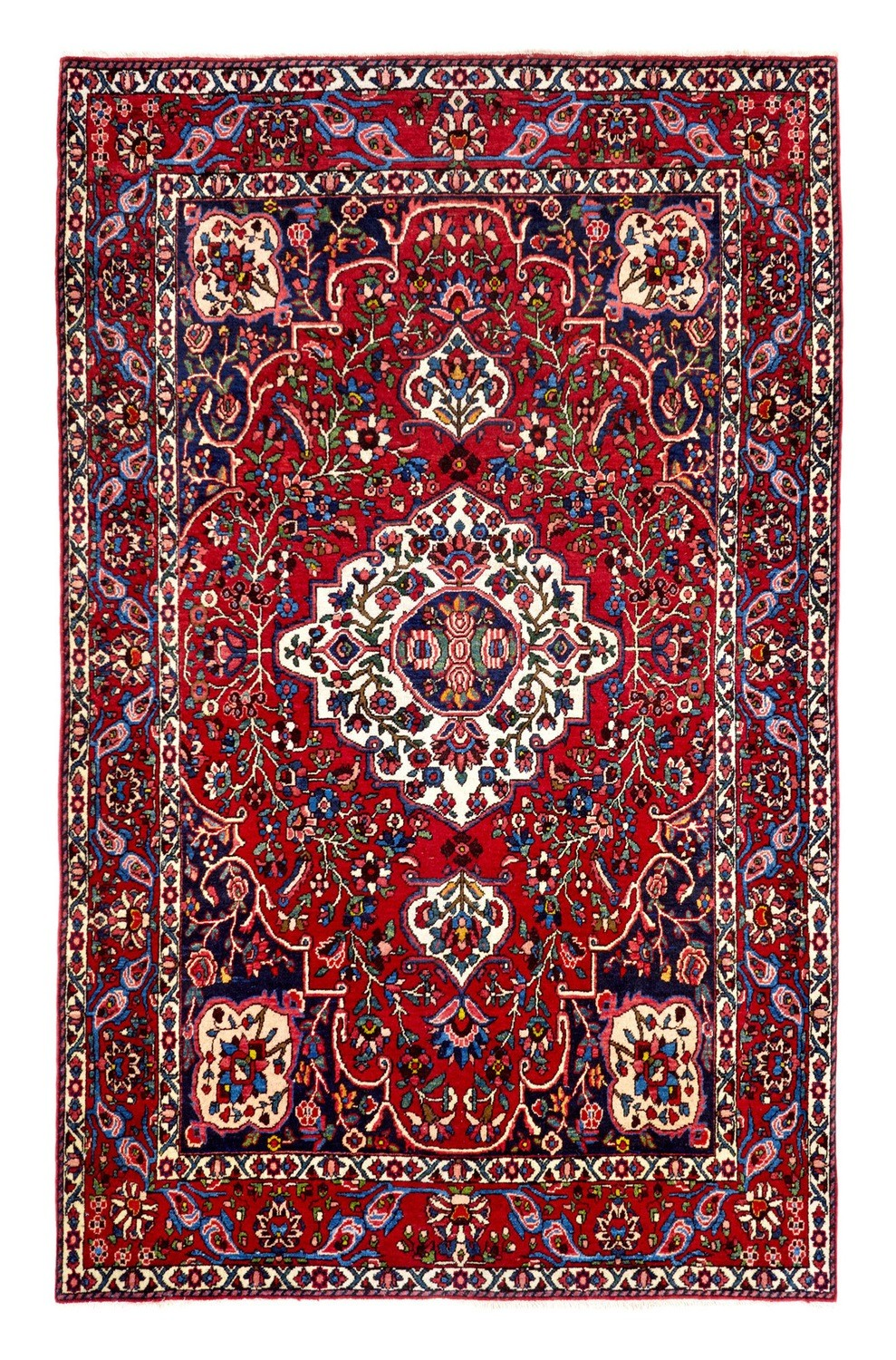 Old Bakhtiari rug size 2.06 x 1.47 Final Reduction