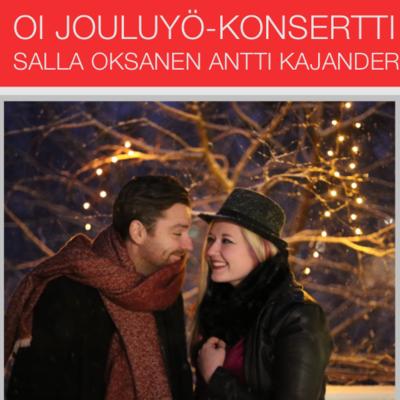 Oi Jouluyö - konsertti Pe 20.12.