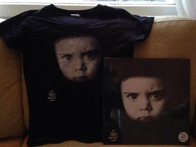 Idle Wolf LP + T-Shirt Bundle
