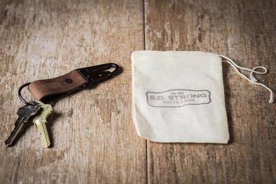 SD Strong Leather Key Chain