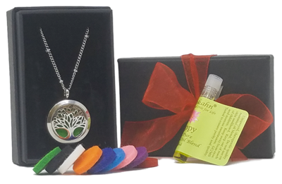 Tree of Life Essential Oil Necklace
