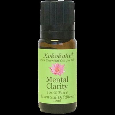 Mental Clarity Essential Oil Blend