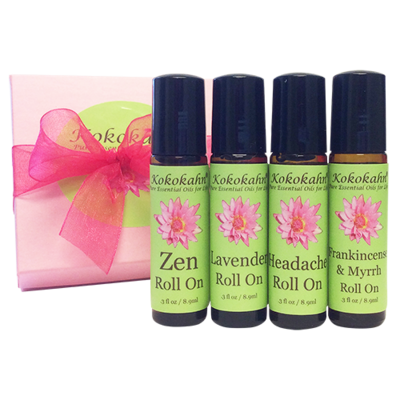 Aromatherapy Roll On Gift Set