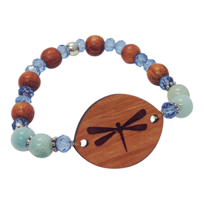 Essential Oil Bracelet | Dragonfly Amazonite