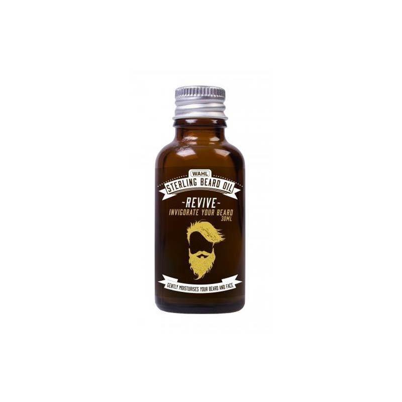 Wahl - Sterling Beard Oil Ravvivante al sentore di agrumi. 30ml.