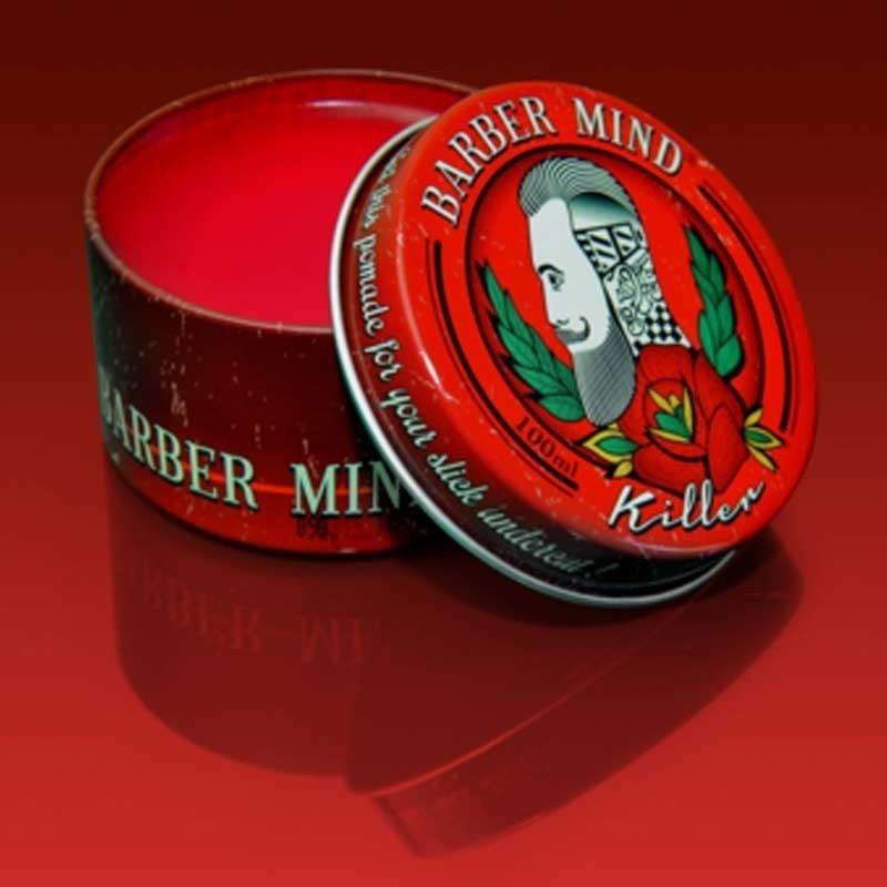 Barber Mind - Cera per capelli effetto Lucido tenuta Extraforte Killer