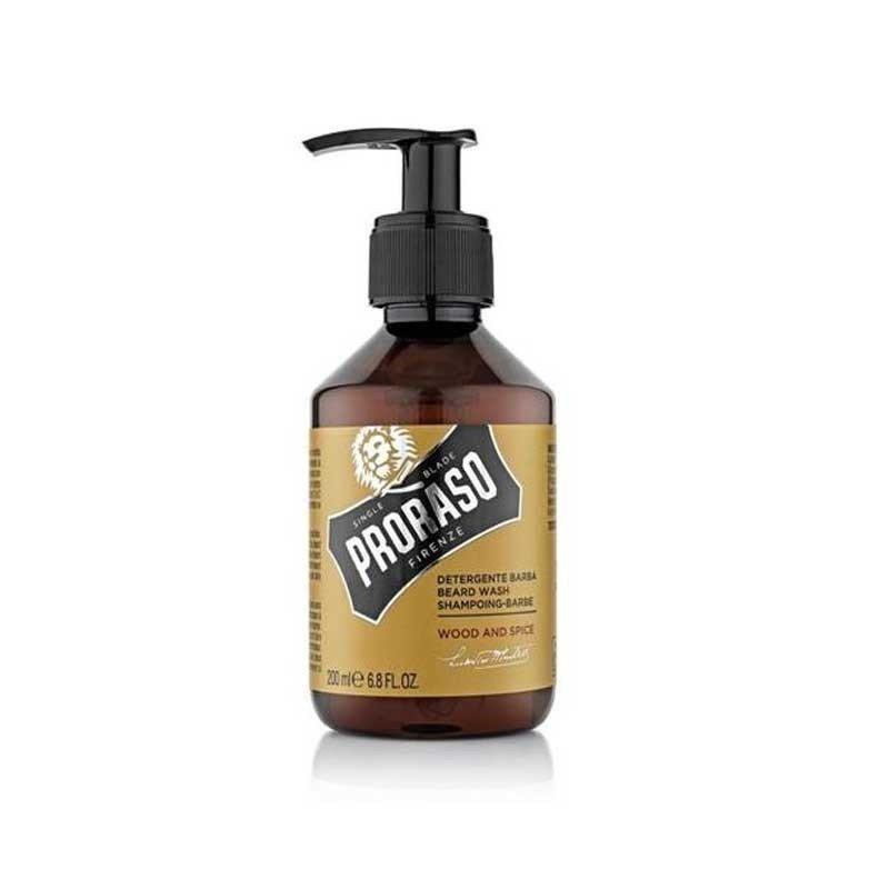Proraso - Shampoo da barba Wood and Spice 200ml.