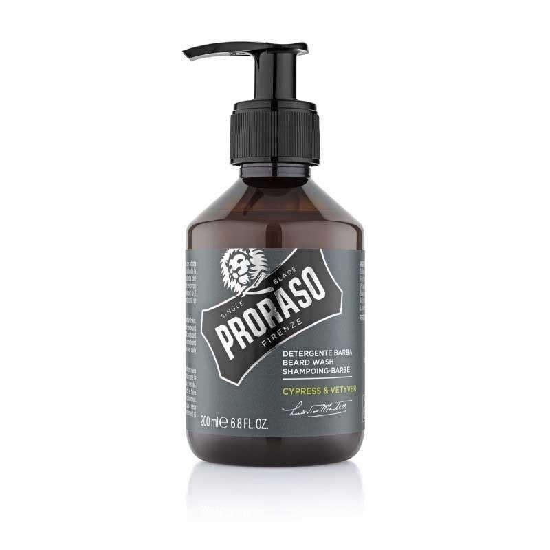 Proraso - Shampoo da barba Cypress and Vetyver 200ml.