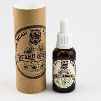 Mr Bear Family - Olio da Barba Wilderness (colline verdi) 30ml.