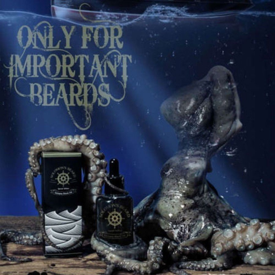 Solomon's Beard - Olio da barba Octopus 50ml.