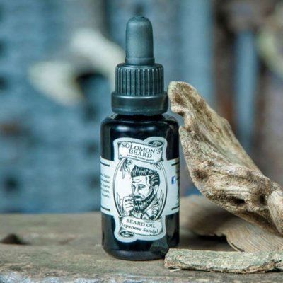 Solomon's Beard - Olio da barba Japanese Sandal 30ml.