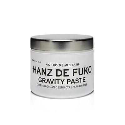 Hanz De Fuko - Gravity Paste - Cera per Capelli effetto Medio Lucido. Tenuta Forte 56gr.