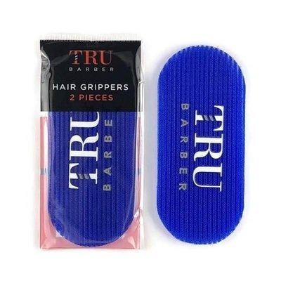 Tru Barber - 2 Pinze per parrucchiere Blu Royal