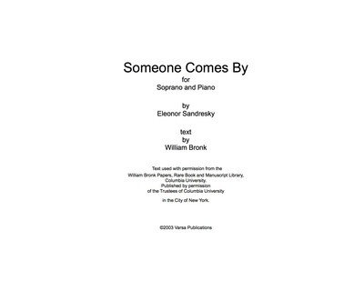 Someone Comes By