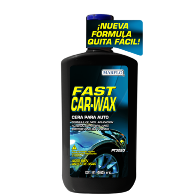 Cera líquida Fast Car Wax  465 mL.