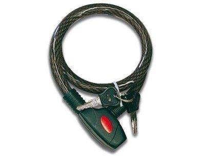 CANDADO CON CABLE FLEXIBLE 80 CMS. C-1590