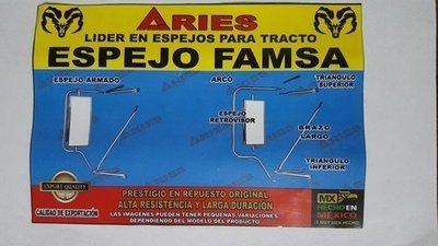 ESPEJO FAMSA DE ACERO