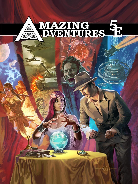 Amazing Adventures 5e RPG Preview