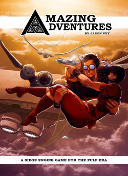 Amazing Adventures RPG 2nd Edition (T.O.S.) -  Troll Lord Games