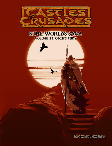 Castles and Crusades RPG: Odins Fury: Castles and Crusades RPG