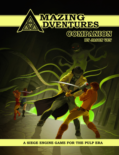 Amazing Adventures Companion: Amazing Adventures (T.O.S.) -  Troll Lord games
