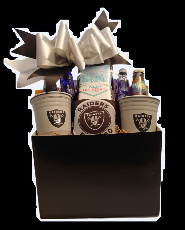 Raiders Gift Basket