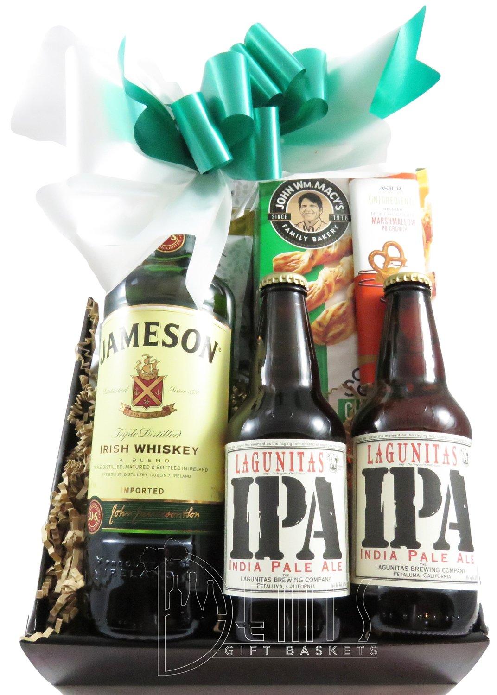 Irish Whiskey and Beer Snack box