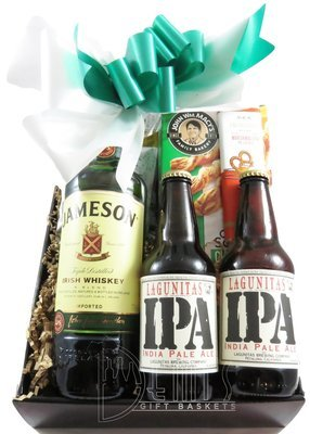 Irish Whiskey and Beer Snack box