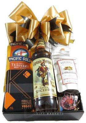 Captain Morgan Spiced Rum Snack Box