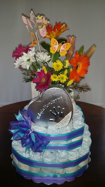 New Baby 'Diaper cake' Gift