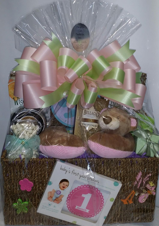 Large New Born Gift Basket