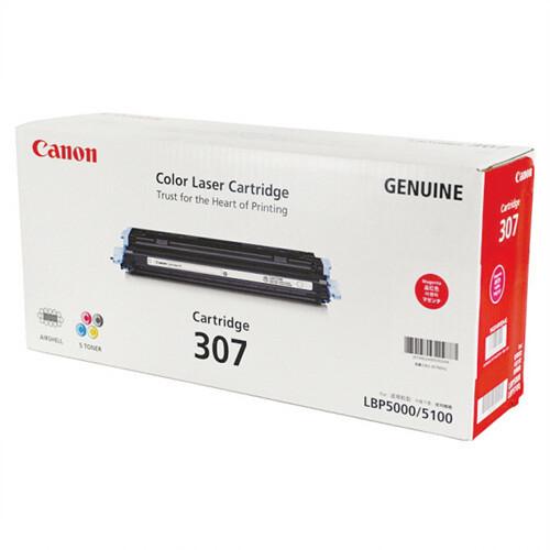Canon Cartridge 307 M 紅色原裝打印機碳粉盒 CRG307M