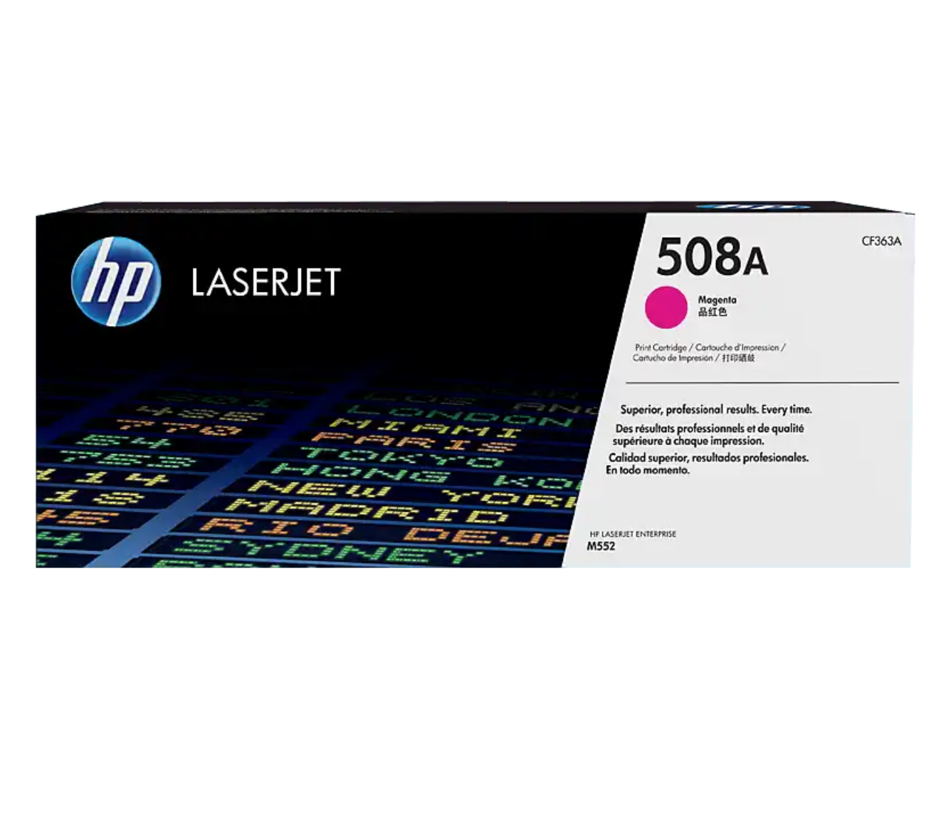 HP 508A 洋紅原廠 LaserJet 碳粉 CF363A