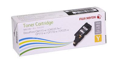 Fuji Xerox 黃色原廠 LaserJet 碳粉 CT202267
