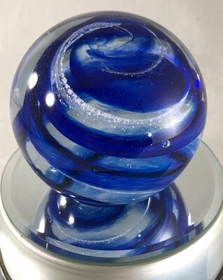 Hand Blown Glass Memorial Pieces