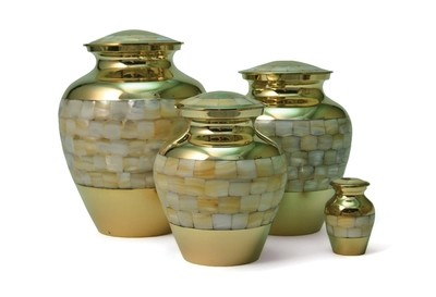 Mother of Pearl Elite Urns
