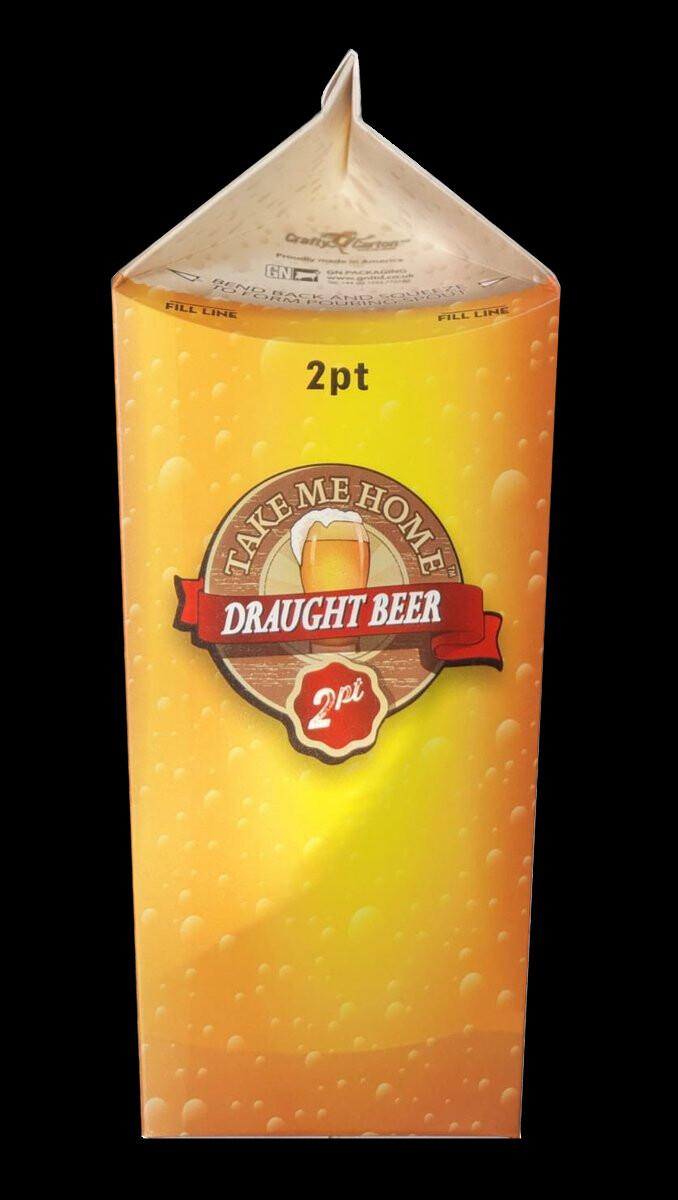 2 Pints of premium Lager 5.2% ABV
