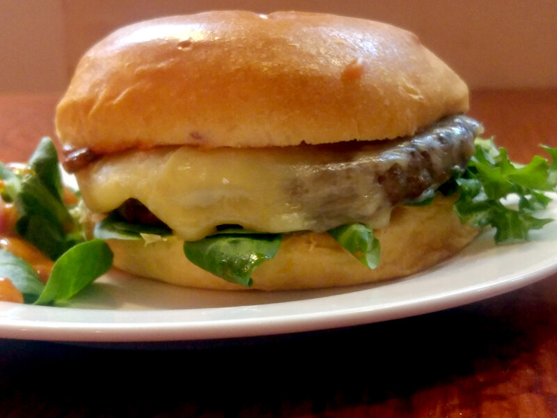 Quarter Pound Gourmet Cheese Burger