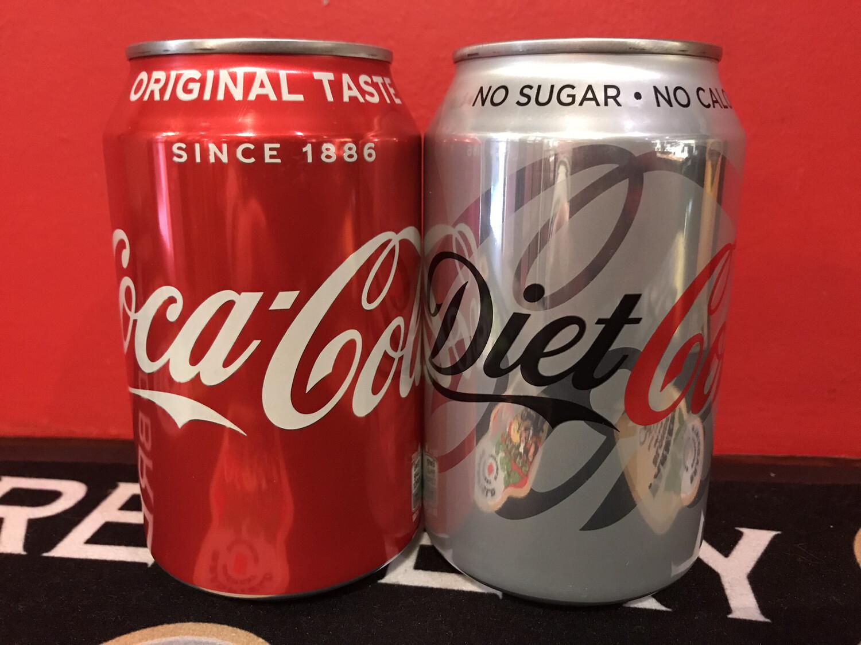 Diet Coca-Cola can 330ml