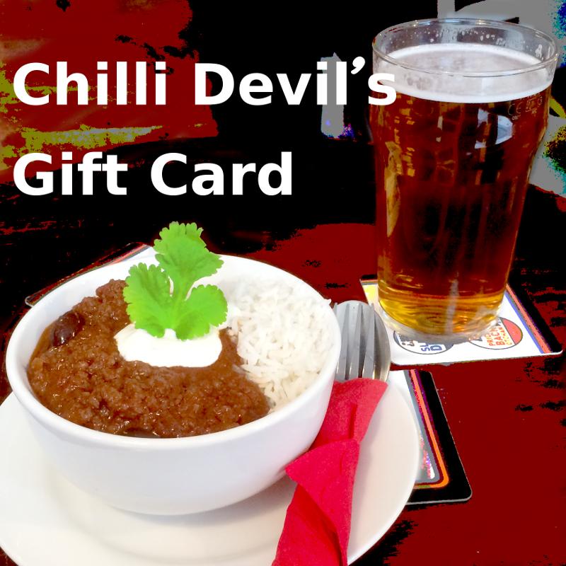 Chilli Devil's Gift Card