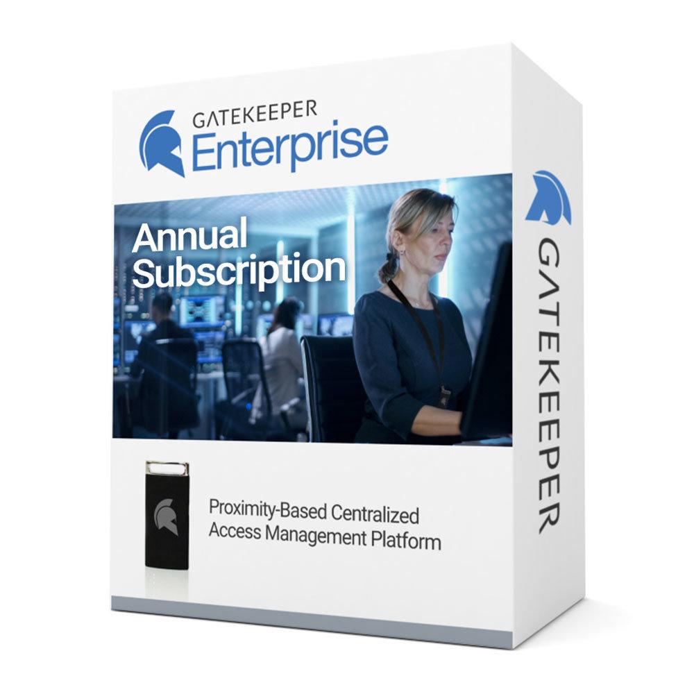 GateKeeper Enterprise Annual Subscription 00015