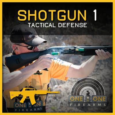 SHOTGUN 1 - TACTICAL DEFENSE   OCT 10TH RANGE 2-1