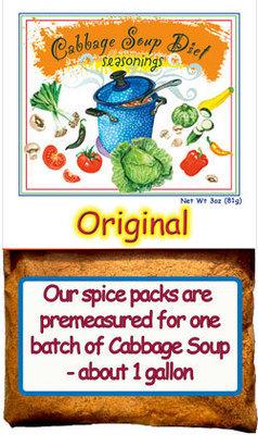 The Original Cabbage Soup Diet Seasonings