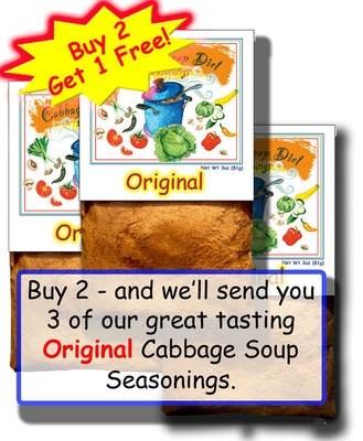 BUY TWO – GET ONE FREE!  Our Original Seasonings