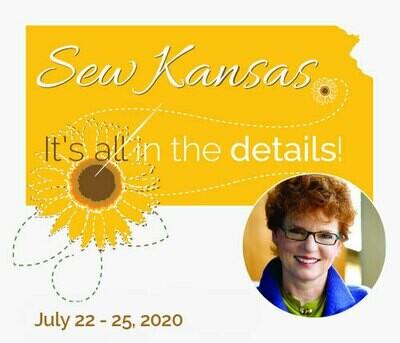 Sew Kansas - July 22 - 25, 2020 (Deposit Only) Sk0720