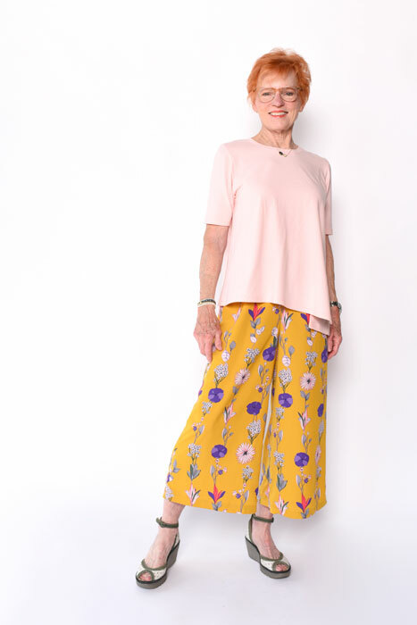 West End Pants with Swing Tee