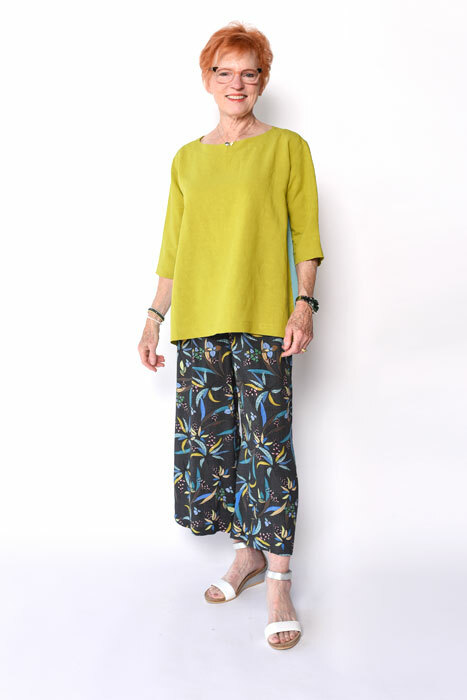West End Pants with Splice Top