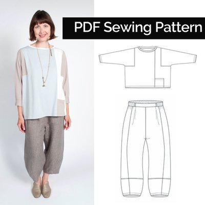 Picasso Top and Pants (Download) PD064